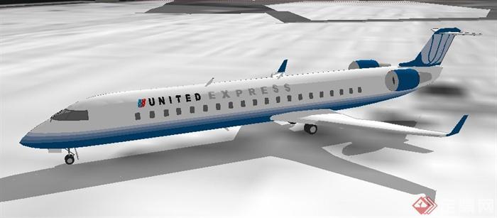 两架飞机su模型(1)