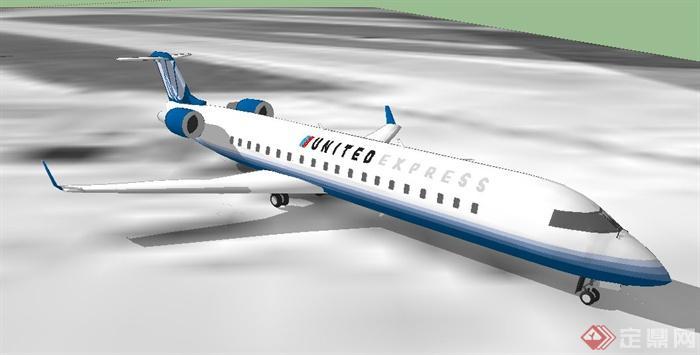 两架飞机su模型(4)