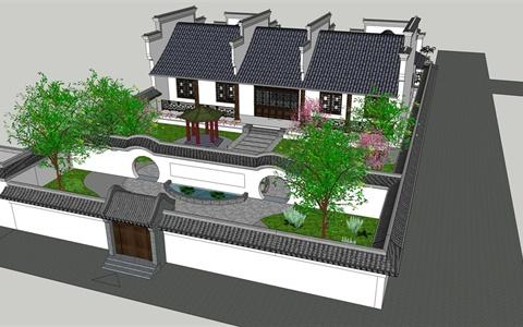 两层小楼平面设计图