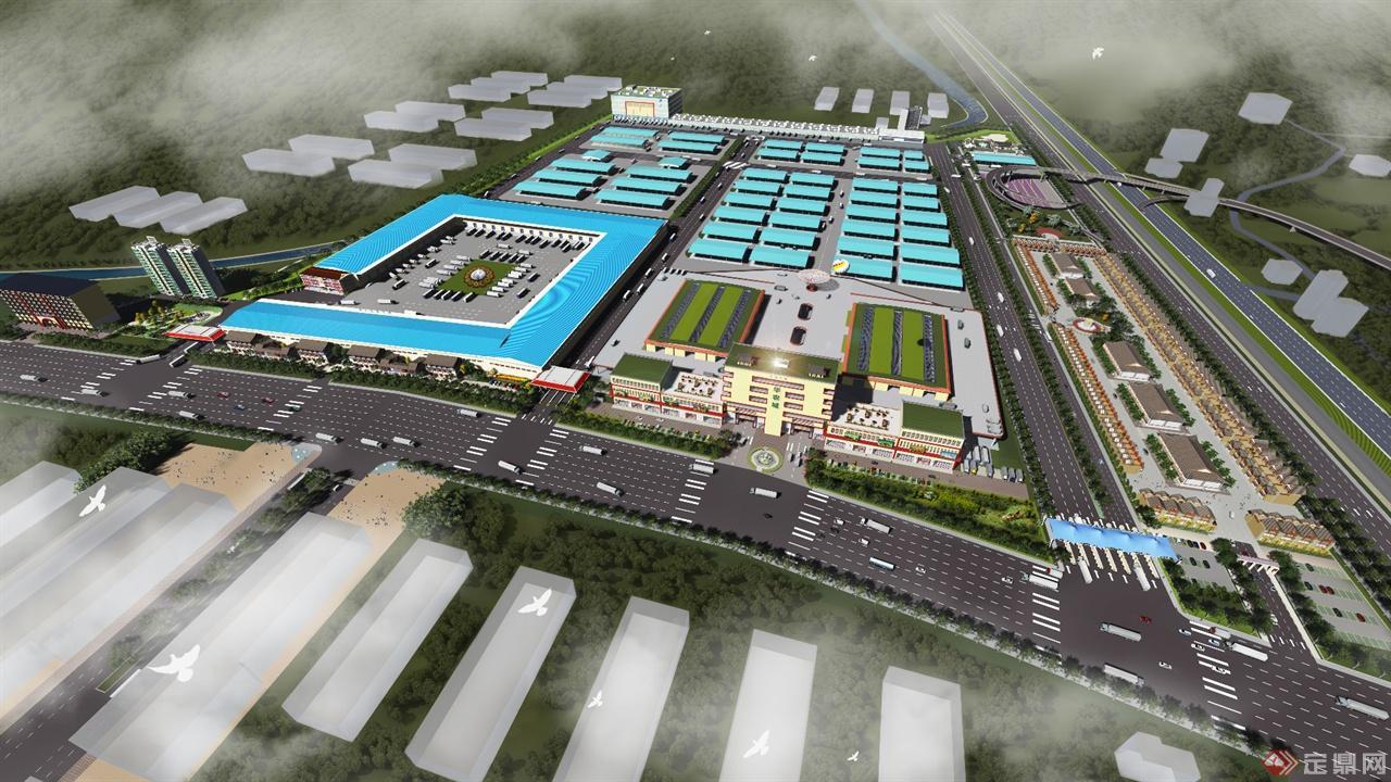 华农城景观建筑规划设计
