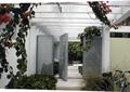 庭院景觀,花架,門,植物
