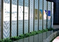 宣传栏,植物,水景