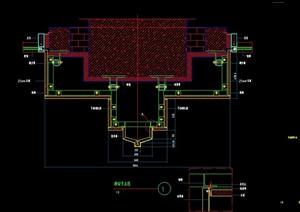 多个建筑常用节点大样设计CAD图