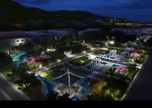 醫院中心景觀方案