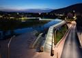 栈桥,栈道,河岸景观,河道景观
