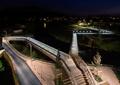 栈桥,栈道,坐凳,河岸景观,河道景观