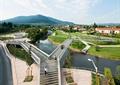 栈桥,栈道,河道景观,河岸景观,坐凳