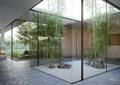 庭院景觀,竹子,景石,地面鋪裝