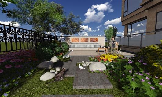 仁恒庭院景观设计