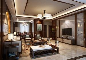 现代某豪华住宅空间装修设计CAD、PDF、JPG施工图