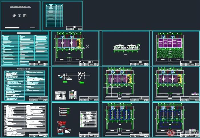 单层幼儿园建筑设计CAD施工图