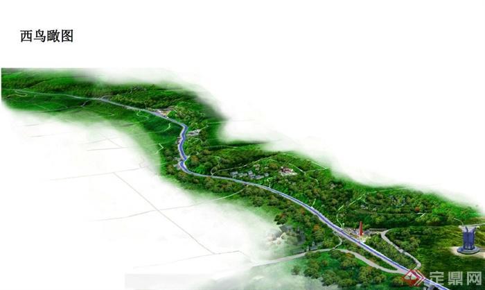 某古典中式滨水森林公园景观规划设计pdf文本[原创]