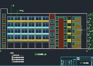 某五层框架结构小学综合楼土建及安装图纸及工程清单报价书