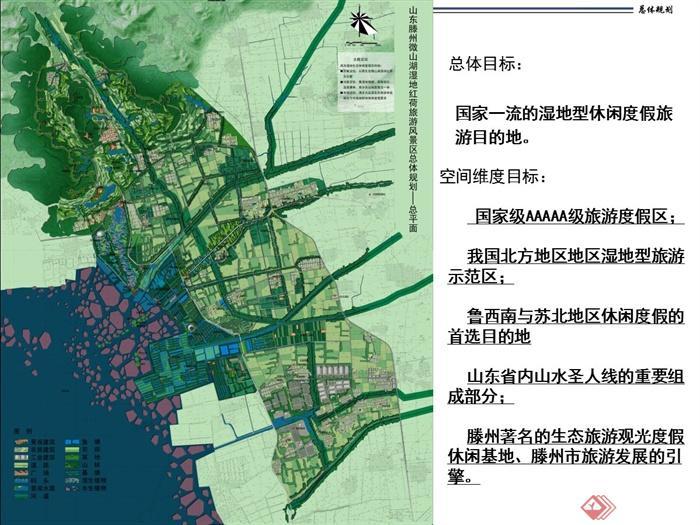 某地旅游风景区总体规划设计ppt文本