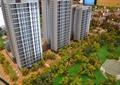 沙盤模型,小區設計,高層住宅