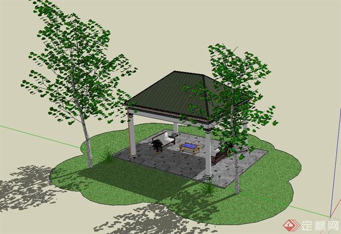 盆景 盆栽 平面图 植物 700_480