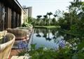 庭院,庭院景观,水池,水景,桌椅,平台