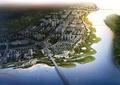 滨水景观,城市规划,湿地公园