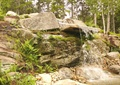 景石水景,自然石,假山瀑布