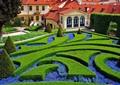 花池,灌木叢,花壇紋樣,別墅,住宅景觀,植物墻