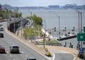 滨水景观,码头公园,道路景观,路灯