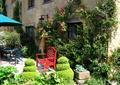 花园,庭院景观,花墙,花池,植配设计