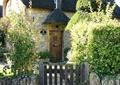 花园景观,花园门,围墙,乡村住宅
