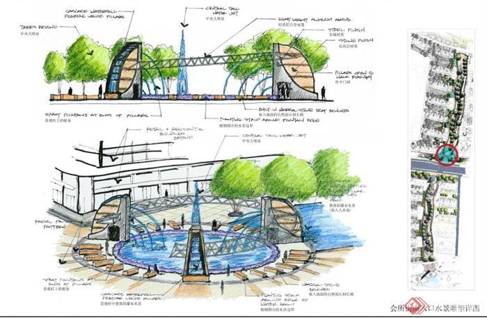 某大型居住小区景观设计图册