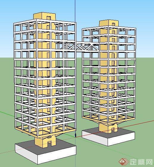 浅析高层建筑框架结构设计