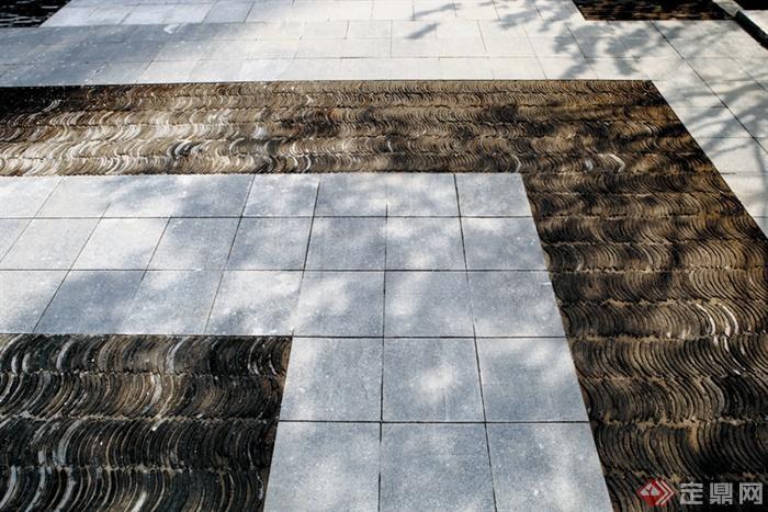 石材铺装,地面铺装
