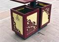 垃圾桶,垃圾箱,地面铺装