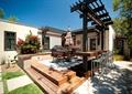 庭院,庭院景觀,平臺,花架,桌椅