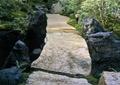 园路,园桥,石桥,花园景观