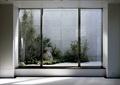 庭院,庭院景观,花园景观,花池,玻璃门