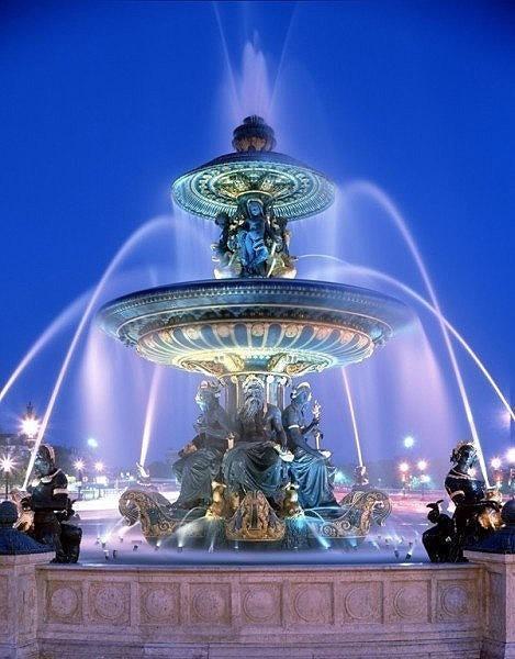 欧式风格景观节点设计图-喷泉水景雕塑水景-设计师