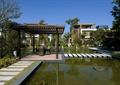 景觀水池,涼亭,汀步橋,汀步