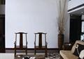 客厅,沙发,茶几,太师椅,干枝装饰,茶具