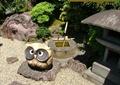 动物雕塑,石灯,水景小品,地面铺装,景石