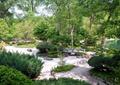 花园,公园,水池,水景,公园景观,围栏