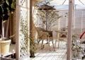 桌椅组合,围栏,花园