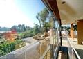 玻璃栏杆,屋顶花园