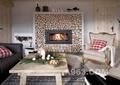 客厅,沙发,茶几,壁炉,背景墙