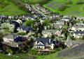 村落,住宅小镇,乡村景观