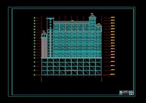 某综合建筑楼方案设计CAD图纸