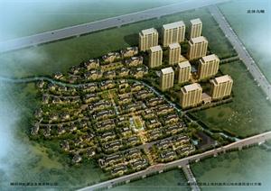 嵊州某地块住宅区规划设计