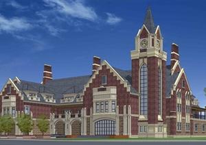 某高档会所建筑方案设计(JPG格式)