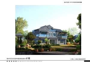 青州市企业家会所建筑规划设计方案文本