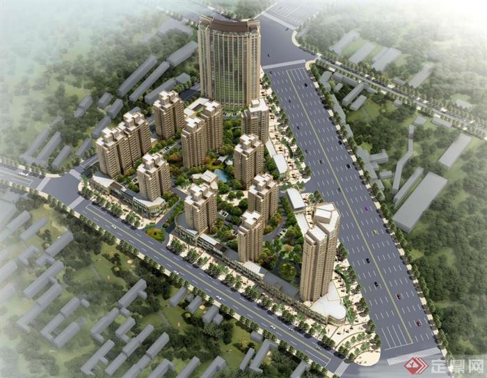 某小区建筑规划设计方案文本(1)