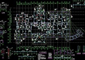 某会所建筑设计结构图纸