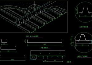 一个金属顶棚设计施工图
